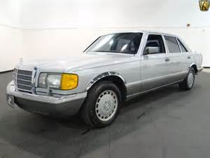 1987 Mercedes 420sel 1987 Mercedes 420sel For Sale Indianapolis Indiana