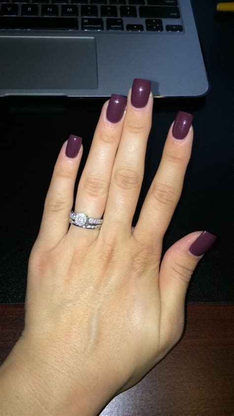 color acrylic nails fall color acrylic nails best nail designs 2018