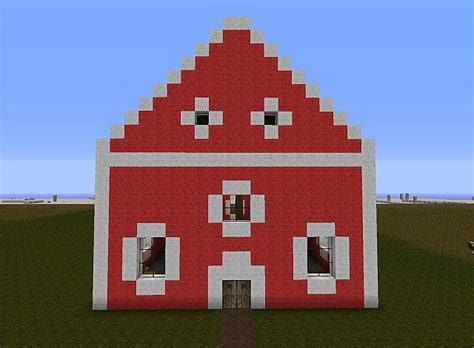Scheune In Minecraft by Scheune Barnes Minecraft Project