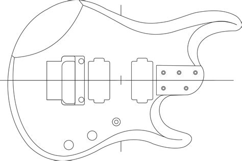 fender neck template build guitar