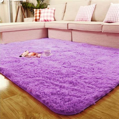 shaggy rugs for bedroom new fluffy anti skid shaggy area rug dining room carpet