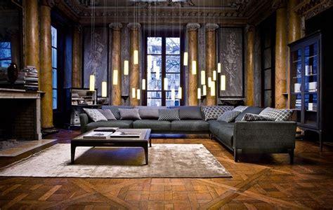 schwarzer läufer teppich 55 wohnzimmer ideen die moderne trifft das klassische
