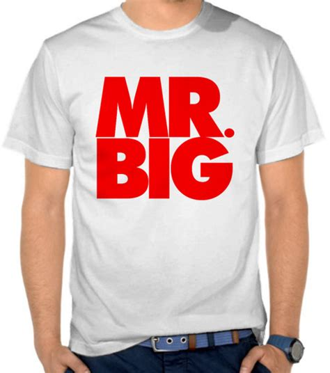 jual kaos mr big logo mr big satubaju