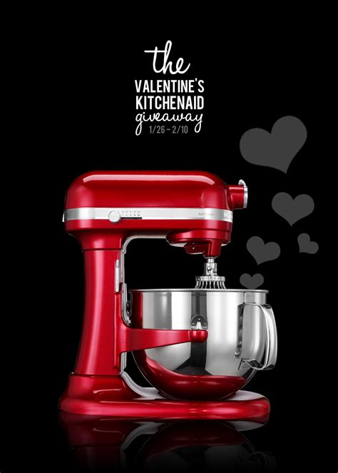 Kitchenaid Giveaway - valentine s kitchenaid giveaway a night owl blog