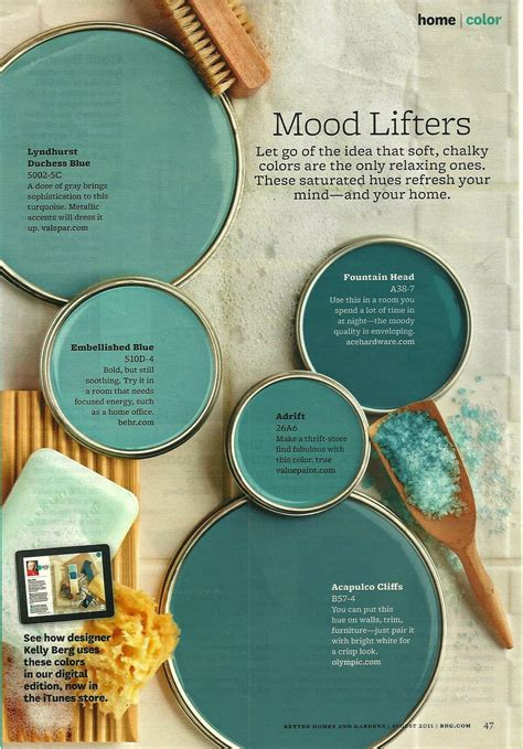 color lifter mood lifters bhg color colores de pintura colores