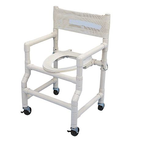 Folding Shower Chair by 18 Wide Folding Shower Commode Chair With Elongated