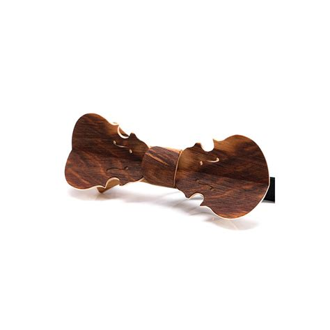 bow tie in wood violin in golden amboyna burl melissambre le bois la mode bow tie in wood violin model in dogwood melissambre
