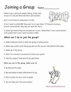 Social Skills Worksheets For Adults by 1000 Images About Pragmatic Social Language On