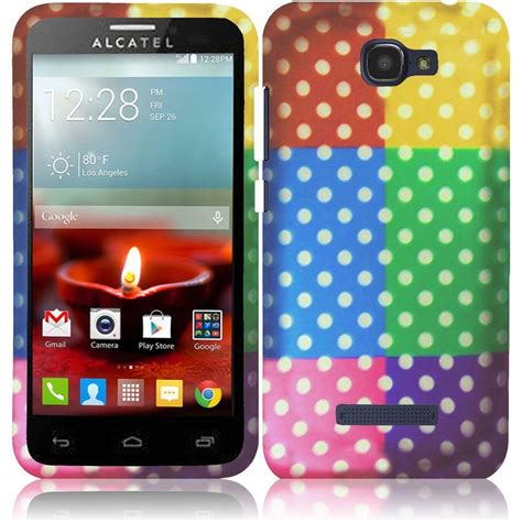 alcatel phone cases for alcatel one touch fierce 2 7040t snap on design