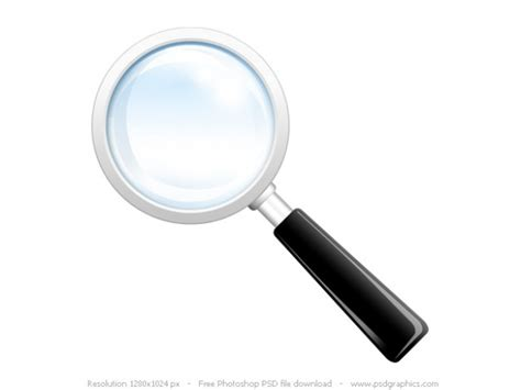 Free Free Free Search Search Icon Psd Magnifying Glass Psd File Free