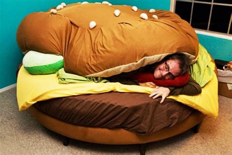 burger bed delicious sleep the hamburger bed