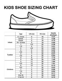shoes size chart best 25 shoe size chart ideas on baby shoe