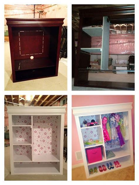 Dresser Into Dress Up Wardrobe by 1000 Ideas About Entertainment Centers On