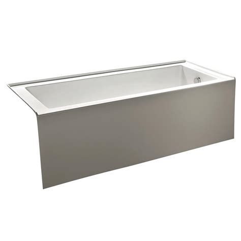 alcove whirlpool bathtub kingston brass contemporary 5 ft acrylic right hand drain