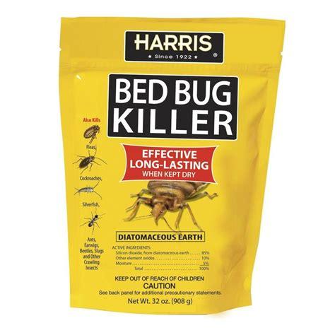 harris bed bug harris 32 oz diatomaceous earth bed bug killer earth