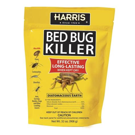 harris  oz diatomaceous earth bed bug killer eco friendly home ideas bed bugs rid  bed