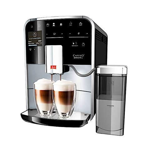 Machine à Café Melitta 1144 by Machine Expresso Caffeo Baristsa Ts Argent Et Noir De Chez