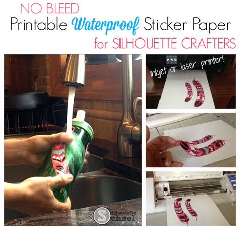 printable sticker paper waterproof waterproof sticker paper printable foil printable htv
