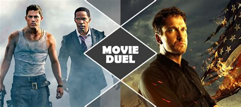 white house down vs olympus has fallen movie duel white house down vs olympus has fallen the agony booth