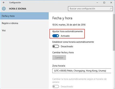 Ubicacion Imagenes Windows 10 | arreglo fecha y hora incorrectas en windows 10