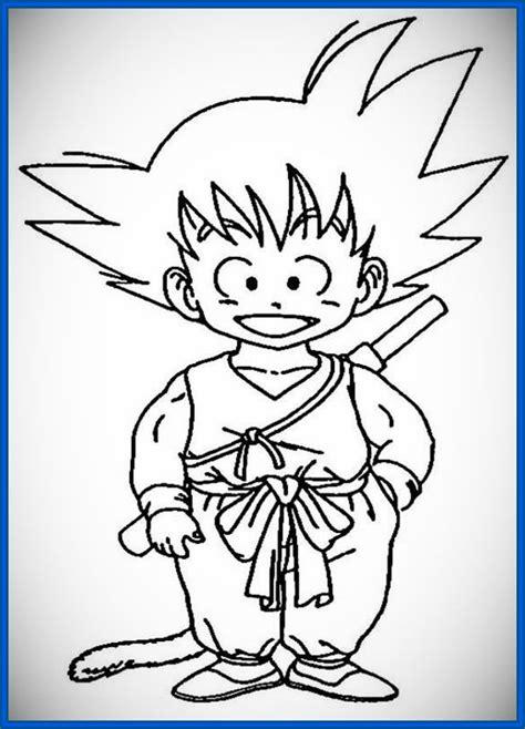imagenes faciles para dibujar a color imagenes de goku para dibujar super faciles archivos