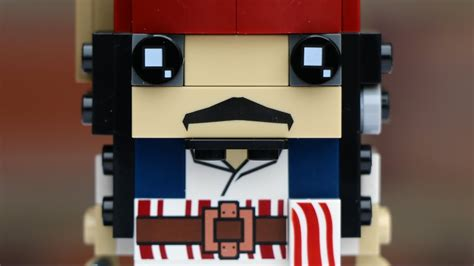 Lego 41593 Brickheadz Sparrow lego brickheadz captain sparrow 41593 review