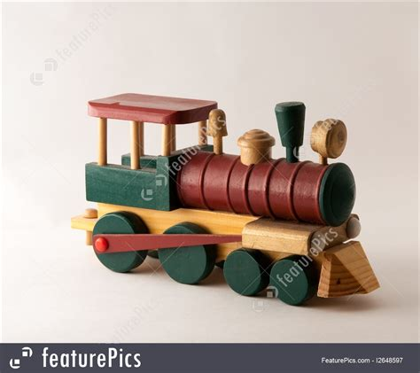 toys  souvenirs wooden toy train engine stock