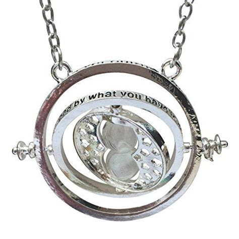 Silver Time by Silver Time Turner Necklace Wizardry Falcoa Horcrux Hourg