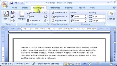 landscape layout on mac word ultra short tutorials how to change single page