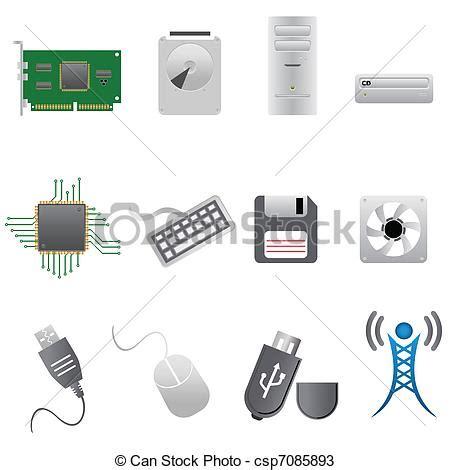 imagenes libres hardware vectores de hardware computadora partes computadora