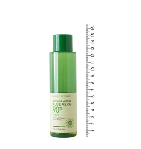 Nature Republic Soothing Moisture Aloe Vera 90 Toner 160ml Review nature republic soothing moisture aloe vera 90 toner