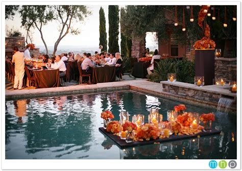 Backyard Wedding With Pool Outdoor Furniture Design And Backyard Pool Wedding Ideas