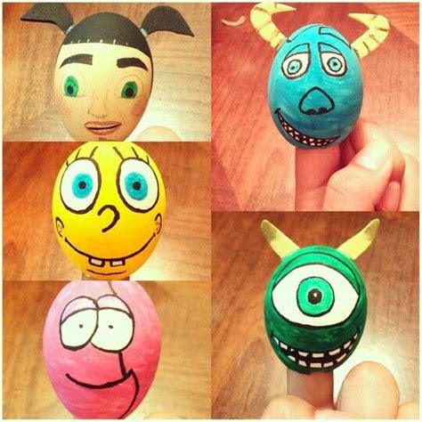 huevos decorados de emojis huevos de pascua cascarones de huevo decorados pinterest