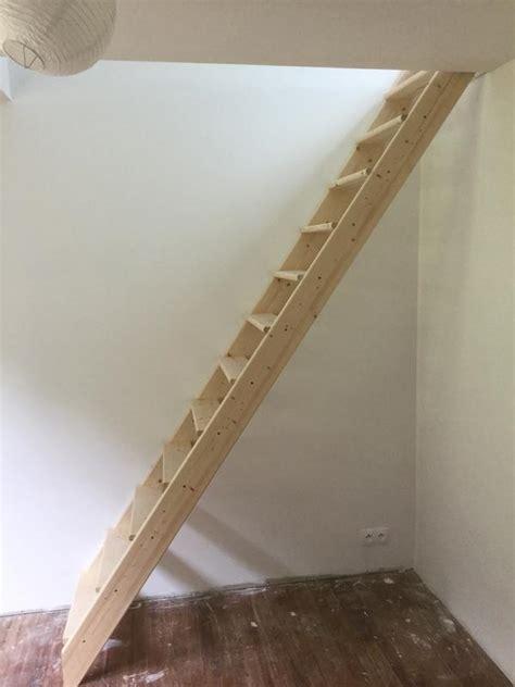 Echelle De Meunier by Escalier Droit Echelle De Meunier Avec Re Structure