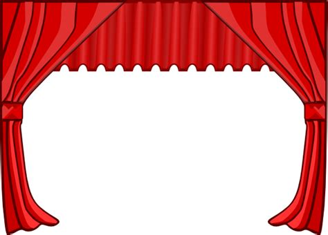 red curtain clipart theatre curtains clip art at clker com vector clip art