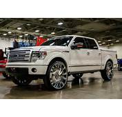 F150 On Forgiato Wheels Fest Big Rims Custom