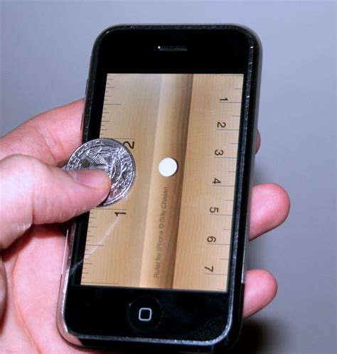 tip use your iphone as a ruler popsugar tech