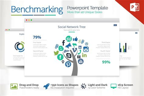 templates powerpoint work benchmarking powerpoint presentation templates