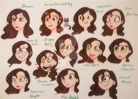 different types of challenges 12 different styles challenge by mariposaazul98 on deviantart