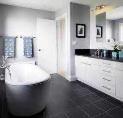 Black Bathroom Floor Tiles How To Use Floors To Brighten Your Dull Home Grey Tiles