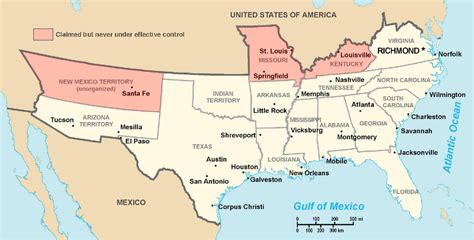 states that border texas map border state civil war secession border states slavery map
