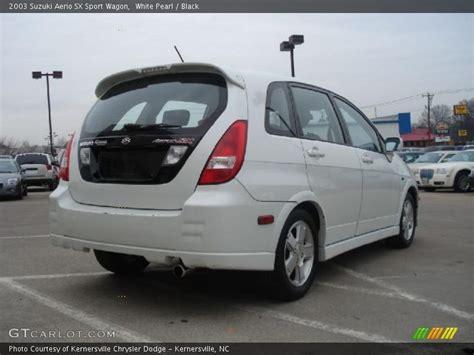2003 Suzuki Aerio Sx Wagon 2003 Suzuki Aerio Sx Sport Wagon In White Pearl Photo No