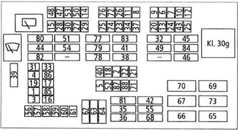 bmw  series       fuse box diagram carknowledge