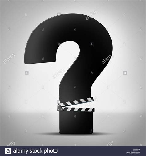 horror film question mark movies questions show business information as a clapboard