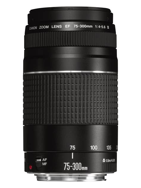 Lensa Canon 75 300mm Terbaru canon ef 75 300mm f 4 0 5 6 iii filter size 58mm zoom lens not usm 82966214073 ebay