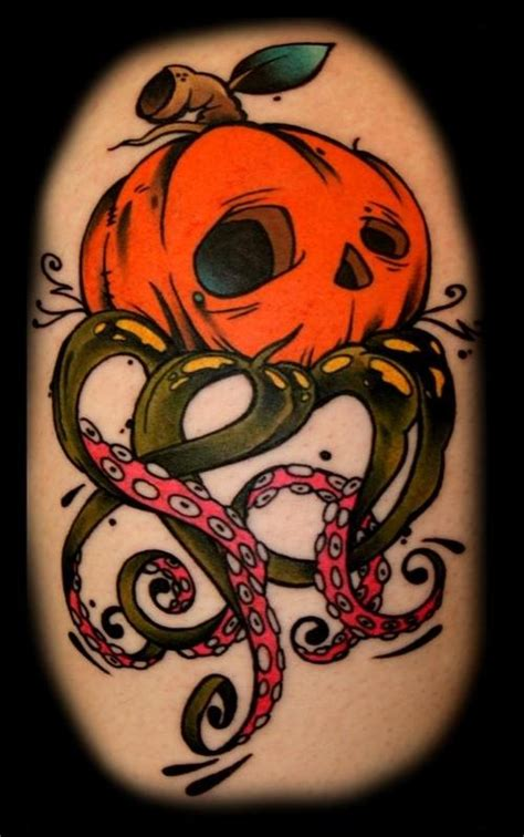 pumpkin tattoo pumpkin tattoos pumpkins awesome