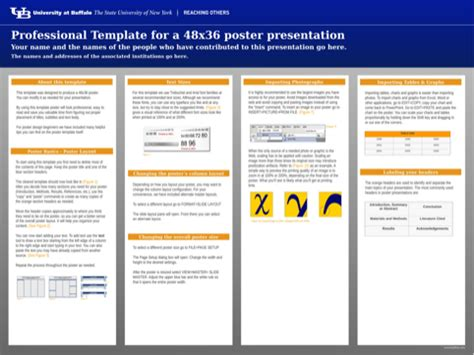48 by 36 poster template poster template for excel pdf and word