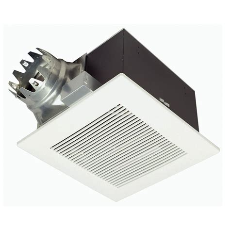 bathroom exhaust fan backdraft der panasonic whisperceiling 190 cfm ceiling exhaust bath fan