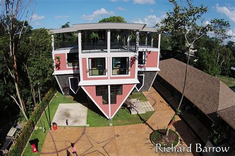 the upside down house baan teelanka the upside down house thailand from above