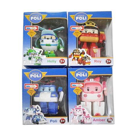 Mainan Anak Mobil Baterai 779 Transformer Robocar robot poli car daftar update harga terbaru indonesia